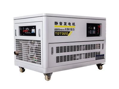 50KW汽油发电机农业试验