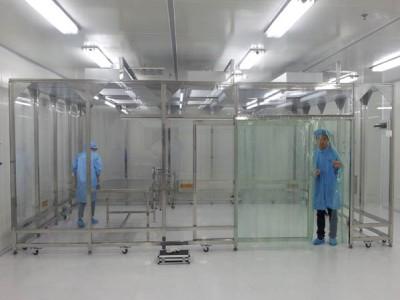 无尘净化棚 现场安装百级 千级 万级移动式洁净棚